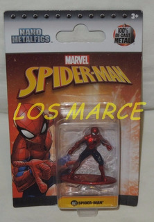 Spiderman Hombre Araña Figura De Metal De 4cm Jada Original