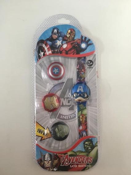 Relógio Infantil Avengers Herois