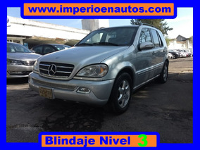 Mercedes Benz Ml500 Blindada N-3