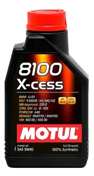 Óleo Motul Carro 8100 X-cess 5w40 100% Sintético 1 Litro