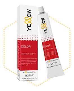Tinte Yellow Paquete 5 Pzas Tonos A Elegir Con Peróxido