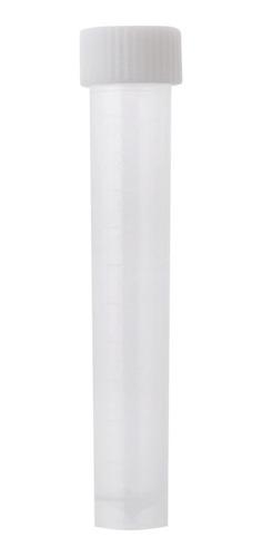 F Fityle Vial de Tubos de Ensayo Criovial Graduados de 10 Ml de 5 Piezas con Tapones de Rosca