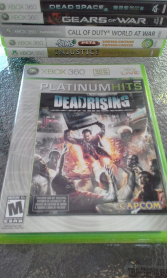 Dead Rising Para Xbox 360 Midia Fisica Platinum Hits