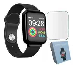 Smartwatch B57 Relógio Hero Band 3 Pronto Entrega + Película
