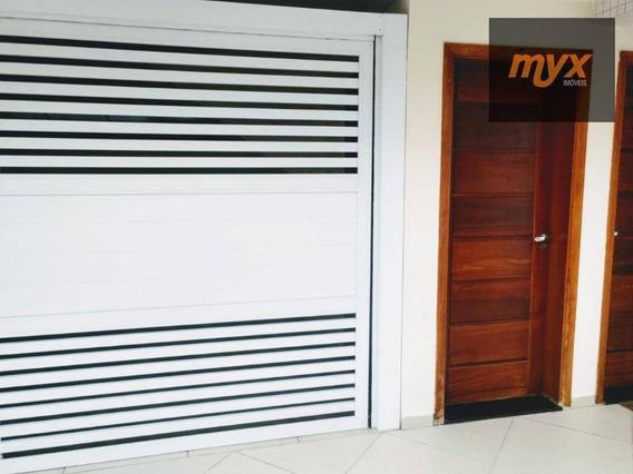 Casa Com 2 Dormitórios À Venda, 100 M² Por R$ 440.000 - Marapé - Santos/sp - Ca0837