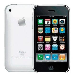 iPhone 3g 16gb Branco Semi Novo Sem Detalhes Raridade