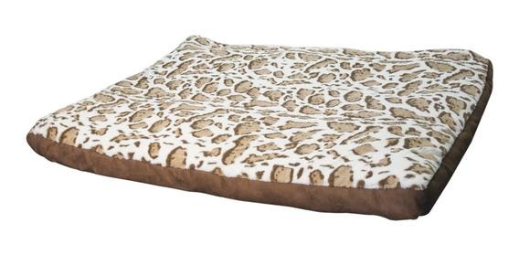 Cama Colchoneta Africa Cafe Animal Print 90 X 70 Perro 10511
