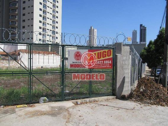 Terreno Para Alugar, 1383 M² Por R$ 4.000/mês - Centro - Piracicaba/sp - Te0761