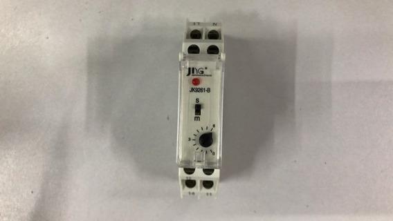 Relé De Tempo Jk9261-b 0-6 Segundos 220v 50/60hz Jng