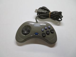 Control Original De Sega Saturn Japones Gris