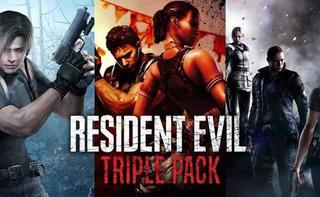 Resident Evil Pack: 4, 5 Y 6