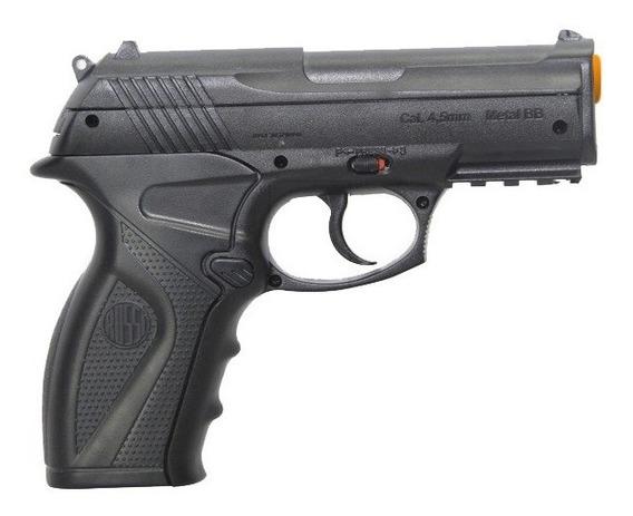 Pistola De Pressão Wingun Rossi C11 Co2 Esfera Metal 4.5mm