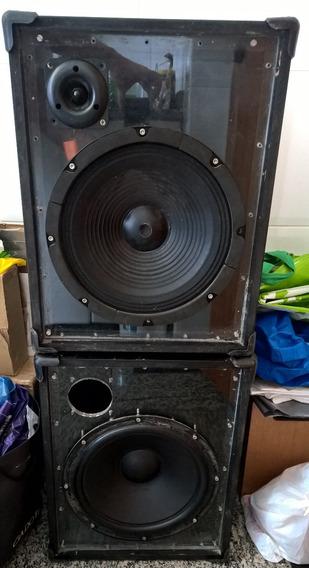 Caixa Acústica 1 Frente Acrílico Receiver Gradiente Marantz