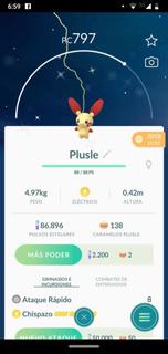 Plusle Shiny Variocolor Pokemon Go