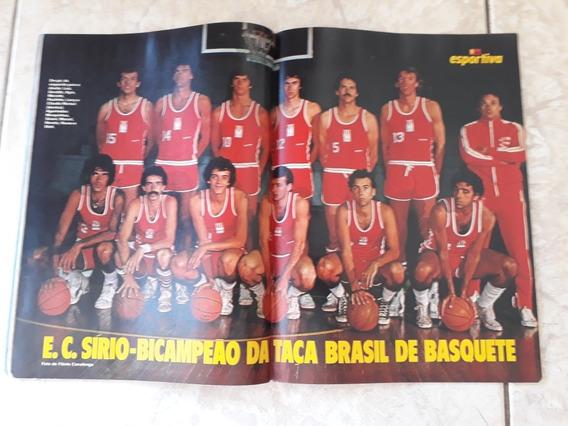 Manchete Esportiva # 71 / 72 Pôster Sírio Bi Campeão