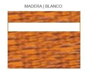 Plástico Bicapa Laserable Econoply Madera / Blanco 60x40cm