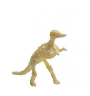Brinquedo De Montar Esqueleto De Dinossauro Fóssil 15 Peças