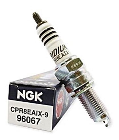 Vela De Ignição Ngk Iridium Cpr8eaix9 Fan125 09 Diante Fina