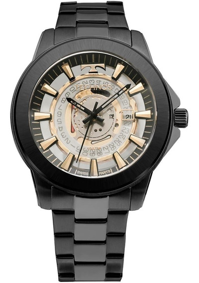Relógio Technos Essence Preto - F06111ac/4w