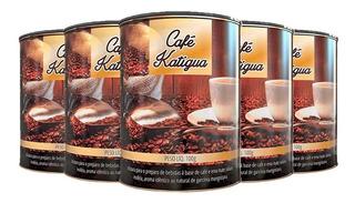 Café Com Erva Mate - 5x 100 Gramas - Katigua