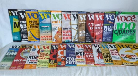 Coleção Revista Você S/a - Com 25 Edições