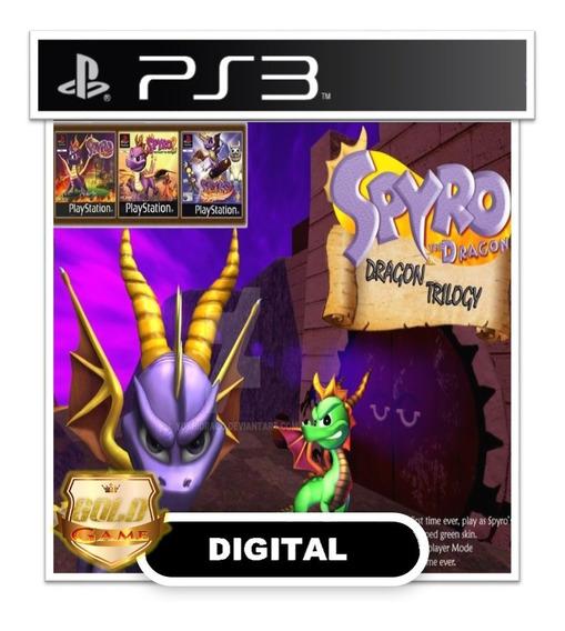 Spyro The Dragon Trilogy Ps3 Psn Digital Envio Hoje