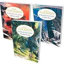 Livro - O Senhor Do Anéis- 3 Volumes