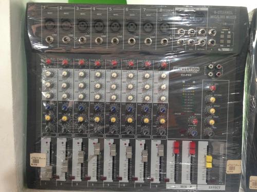 Consola De Audio 8 Canales Amplificada 2000w