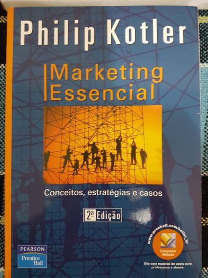 Livro Marketing Essencial - 2 Ed - Philip Kotler