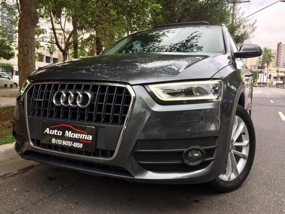 Audi Q3 Ambition 220cv 13 Cinza + Teto Apenas 48.975 Km !!!