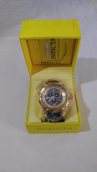 Relógio Invicta Venom Dourado Top Original Top.