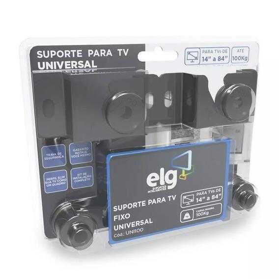 Suporte Fixo Universal ELG Tv 14 A 84 Lcd Led | Uni100