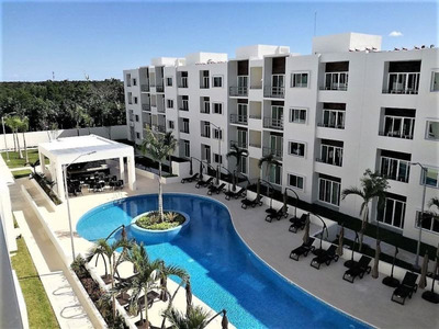 Cancun Departamentos En Renta. 2 Rec. Privada Con Alberca
