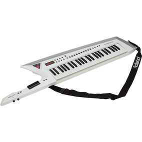 Keytar Sintetizador Guitarra Teclado Roland Ax-edge-w Branco