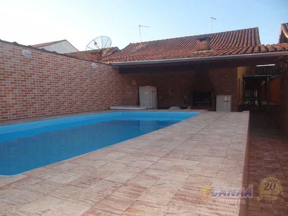 Casa Com 3 Dorms, Balneário Itaguai, Mongaguá - R$ 280 Mil, Cod: 7364 - V7364