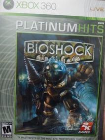 Bioshock Platinum Hits Xbox 360 Original , Midia Fisica
