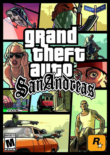 Grand Theft Auto San Andreas Gta Pc Original Español Online