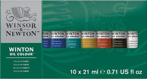 Juego De 6 Tubos De Pintura Al Oleo Winsor & Newton, 0.71 F