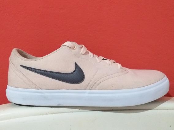 Zapatillas Nike Sb Rosas Talle 39-40 Unisex