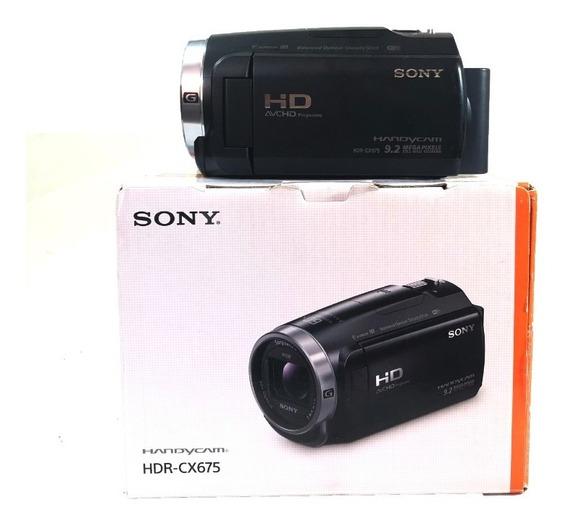 Filmadora Sony Hdr-cx675 Seminova