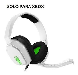 Auriculares Xbox Astro A10 White Green Nuevos Caja Dañada