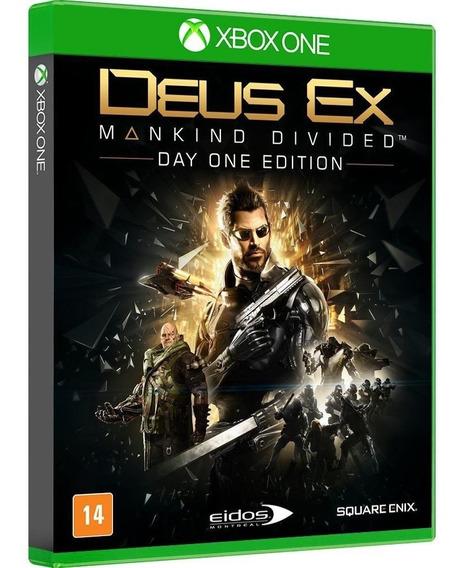 Deus Ex: Mankind Divided - Edição Day One - Xbox One