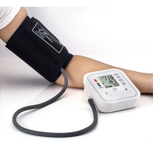 Monitor Salud Hogar Presion Arterial Lcd Completamente