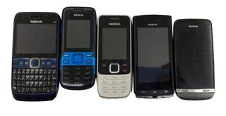 Lote C/07 Nokia 500/e63-3/311/2690/2730c-1 No Estado