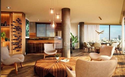 Imagem 1 de 14 de Apartamento Garden 02 Suítes E 02 Vagas No Juvevê, Curitiba - Gd0473