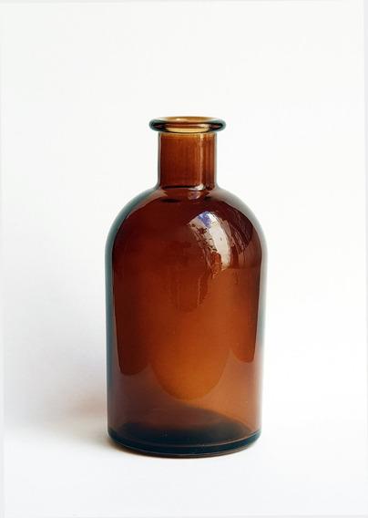 Frasco Vidrio Difusores Aromáticos 200 Ml Ambar