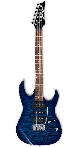 Ibanez Grx 70qa Tbb Guitarra Solida, Bolt-on, Ponte Tremolo
