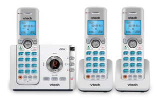 Telefono Inalambrico Vtech Ds6722-3 Contestadora Dect 6 Bt
