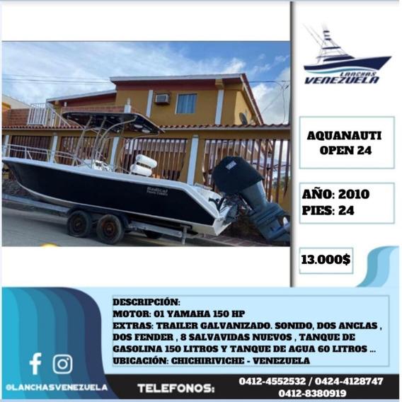 Lancha Aquanauti Open 24 Lv551