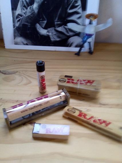 Combo Raw ,armador Raw King Size 110mm ,lata Raw Porta Tabac